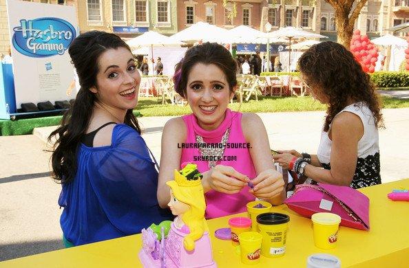 Laura Marano et sa soeur au Variety's Power Of Youth le 27 Juillet 2013