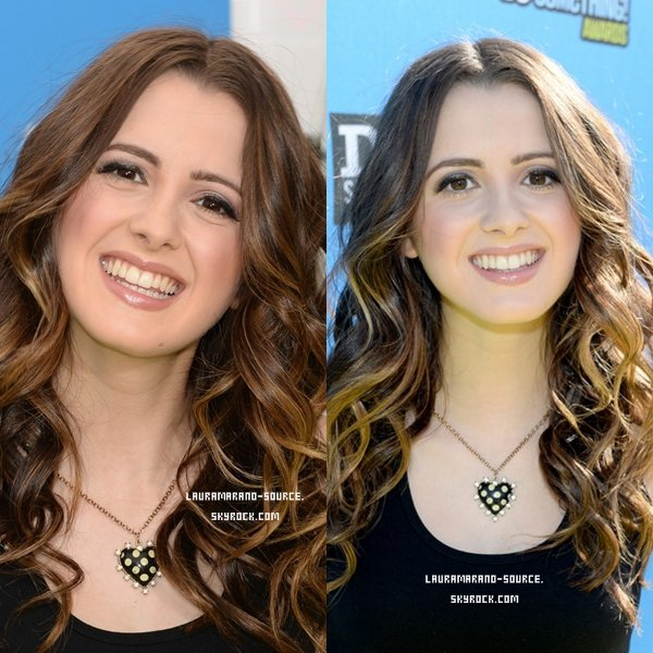 Laura Marano au Do Something Awards le 31 Juillet 2013
