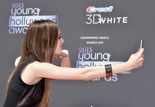 Laura Marano au Young Hollywood Awards le 1er Août 2013