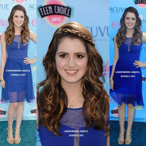 Laura Marano au Teen Choice Awards le 11 Août 2013