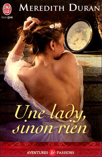 Une lady, sinon rien