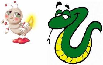 """O pirilampo e a cobra... """" - Frases soltas"""