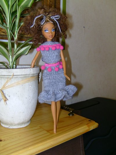 Mademoiselle en tenue estivale