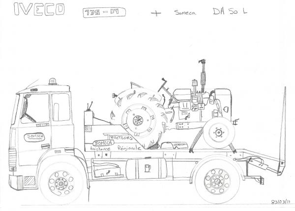 Iveco 135-17 + Someca DA50L