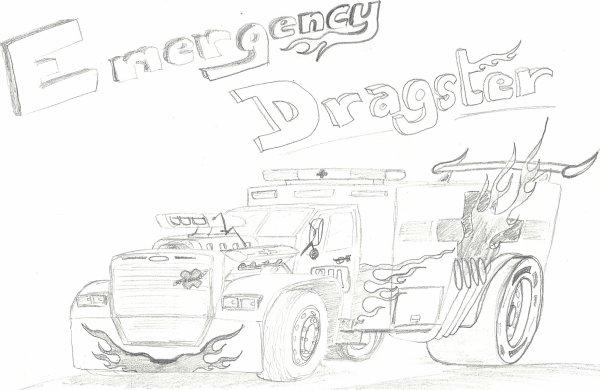 Pourquoi pas un Dragster Ambulance ?!