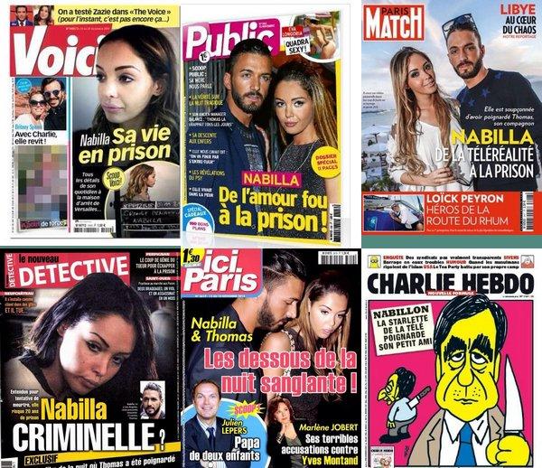 """- Les chroniqueurs de «Touche pas à mon poste» réagissent à """"L'affaire Nabilla"""".  + Voici les différentes couverture de magazine où cette affaire apparaît... D'autres vidéos de TPMP où les chroniqueurs réagissent: #1 - #2+ Gardez en tête que tout ce que vous lisez n'est peut-être pas vérité. Personne ne sait ce qui s'est vraiment passé. -"""