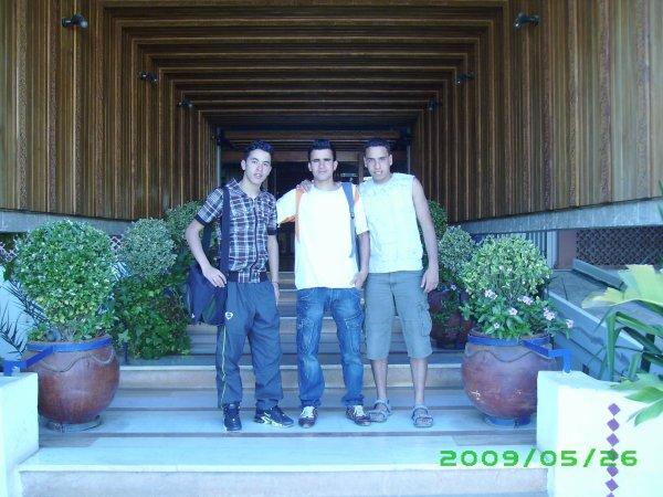 Moi et mes amiiiiiiiiiiii dans l'hotel