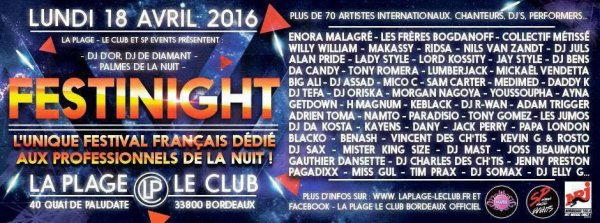 FESTINIGHT bordeaux 2016