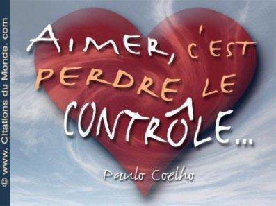 l'amour et le controle