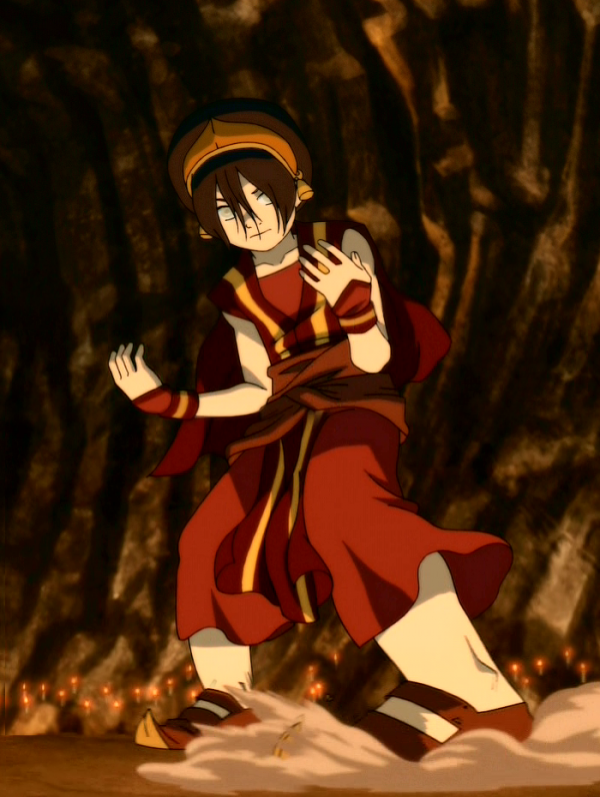 Toph. Version Nation du Feu