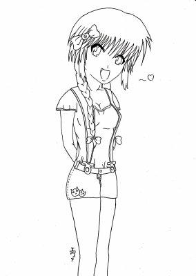 Fille Kawaii Blog De Dessin Manga