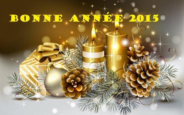 En cette période de nouvelle année, je vous souhaite une très bonne année 2015 surtout une très bonne santé et que tous vos voeux se réalisent .