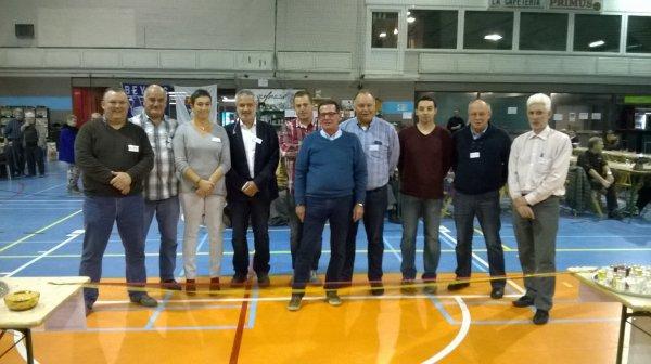 INAUGURATION de la 37ième EXPOSITION du Club Liègeois de Canaris de Couleurs