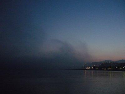 ......el mar........... ( desde mi casa, HOY )