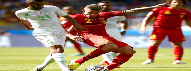 L'Algérie s'est inclinée difficilement face à la Belgique (1-2)