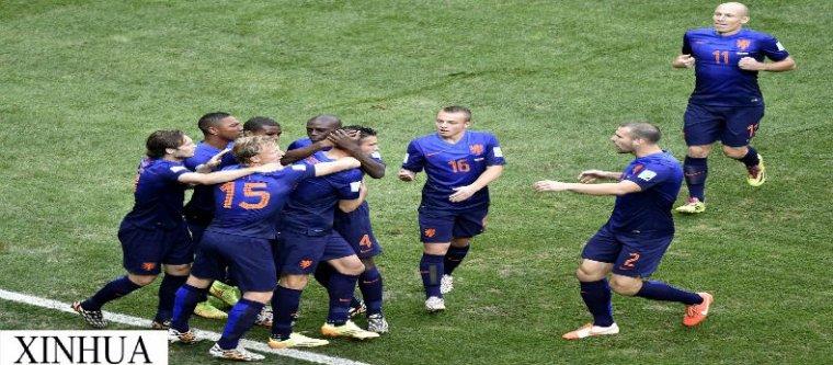 Les Pays-Bas a la troisième place