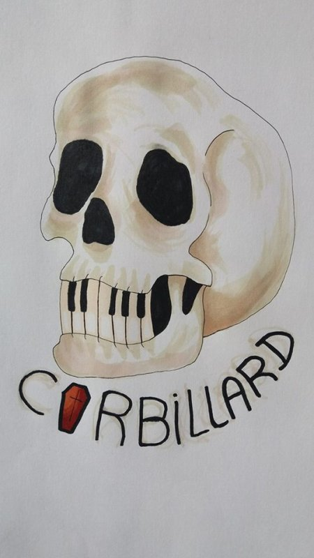 logo pour le groupe Corbillard