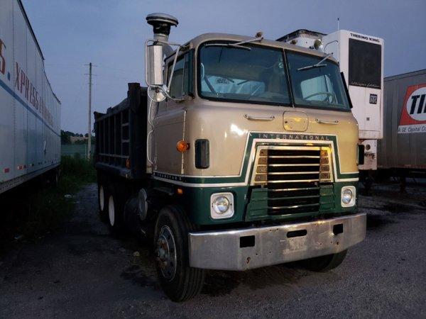 camion benne International transtar 2
