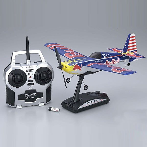 MINIUM EDGE 540 RED BULL KIRBY CHAMBLISS - KYOSHO