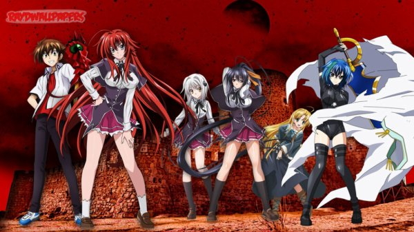 high scool dxd