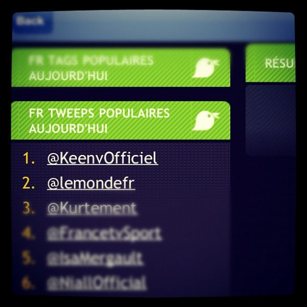 Number One  En tout!♥