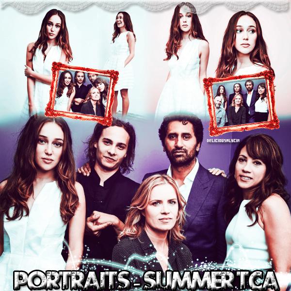 ♦ ♦ ♦ DeliciousALycia - Alycia Jasmin Debnam Carey, PhotoShoots SUMMER TCA - Portraits.