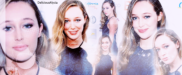 ♦ ♦ ♦ DeliciousALycia - Alycia Jasmin Debnam Carey, ACTUS. 1er Juin 2016 -  The Australians In Film Heath Ledger Scholarship Dinner at Mr. C Beverly Hills.