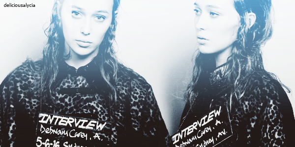 ♦ ♦ ♦ DeliciousALycia - Alycia Jasmin Debnam Carey, INTERVIEW - Magazine by Craig Mcdean.