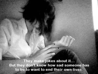 Self hate.