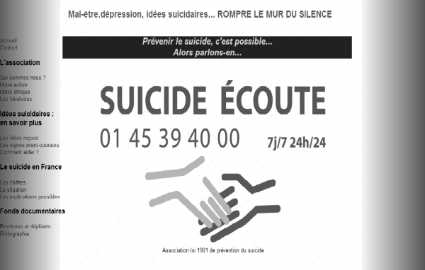 http://www.suicide-ecoute.fr/