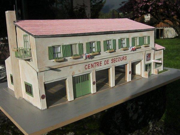 centre de secours immaginaire du Var