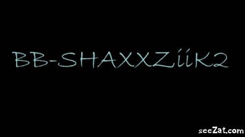 """BAABY SHAXX ZIIK II """"DU NOUVEAU SUR LE BLOG"""""""