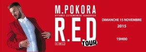 M Pokora nouvelle date Orléans 15 novembre 2015 à 19h00