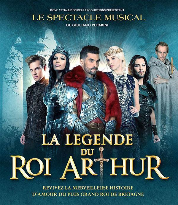 """Spectacle musicale """"La Légende du Roi Arthur"""""""