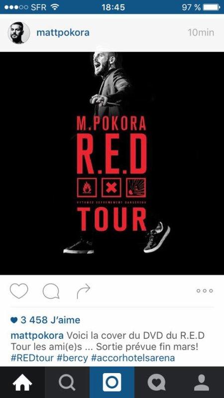 "DVD ""R.E.D Tour"" fin mars"