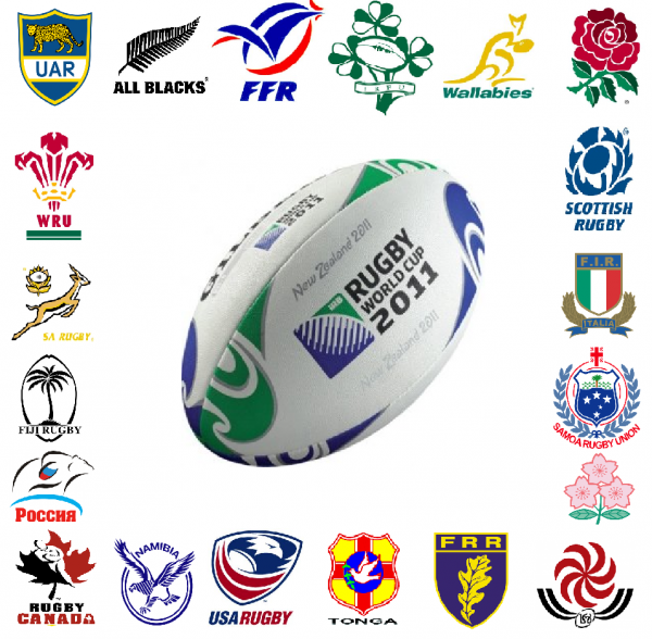 RUGBY  WORLD  CUP  -  The Pools. - RUGBY  WORLD  CUP  -  Cearca.