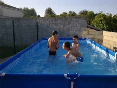 hichem mehdi mickael ds la piscine