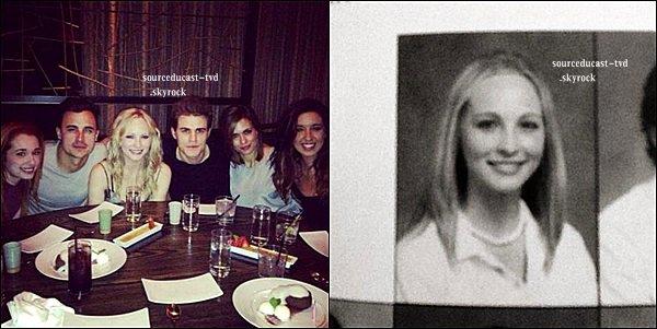 06/04/13: - Nina était au concert de Muse en compagnie de ses ex co-stars Matt Davis et David Anders.