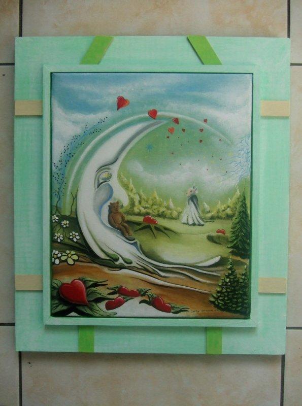 """""""Mon jardin Lunaire"""" Février 2013 collection privée"""