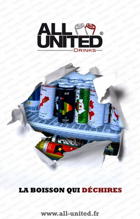 ALL UNITED DRINKS, LA MEILLEURE BOISSON ENERGISANTE AU MONDE !!