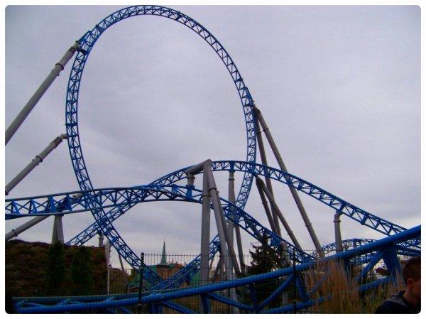 blue fire Megacoaster (Europa Park) .
