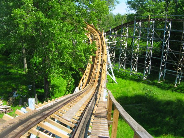 Blue Streak (Conneaut Lake Park) .