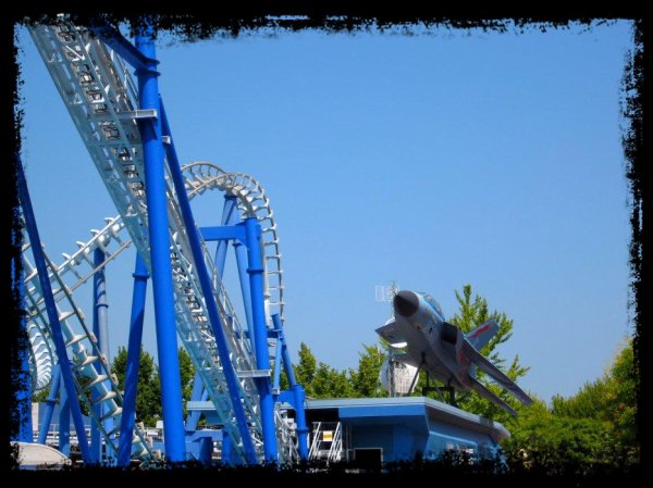 Blue Tornado (Gardaland) .