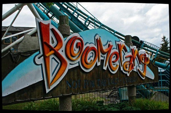 Boomerang Coast to Coaster (Darien Lake) .