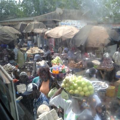 Arret a Boromo Burkina Faso