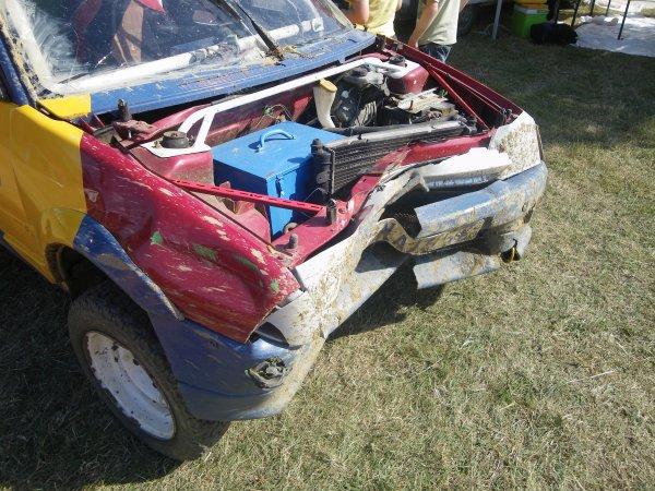 voici l'AX cassée après la course de sommery