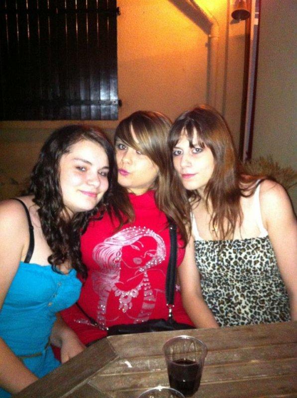 Moi, Angélina et Sarah