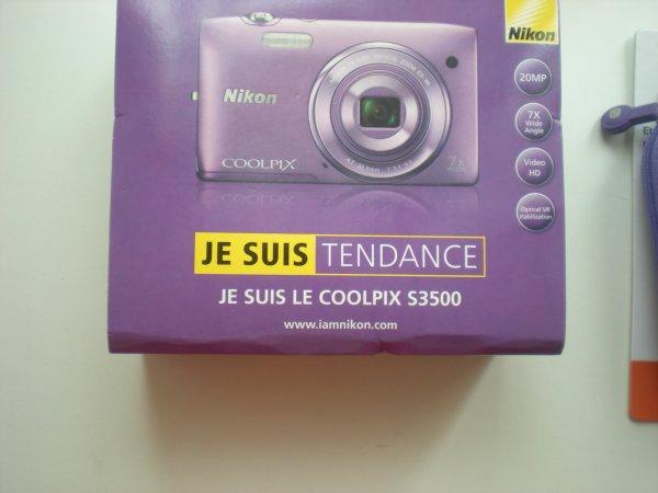 Mon new appareil.