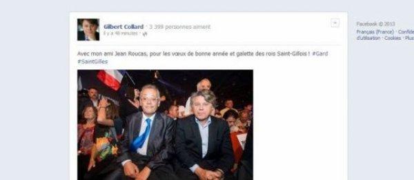 Municipales : Jean Roucas va soutenir son «ami» Gilbert Collard à Saint-Gilles - leparisien.fr