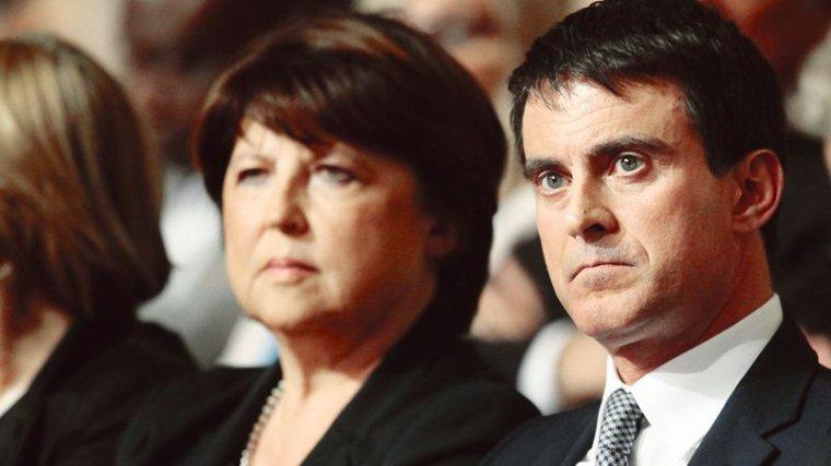 Les critiques publiques d'Aubry sont un coup dur pour Valls - lefigaro.fr